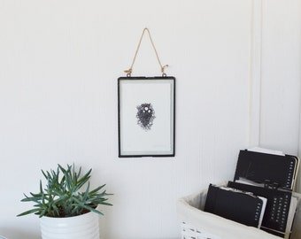 Screen Print // Art // Wall Art // Home // Interiors // Housewarming gift // Art and Collectibles // Biology // Microscopic Plant Cells