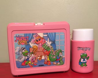 Muppet Babies Thermos Brand Lunchbox