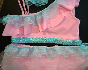Pageant Swim Wear Set