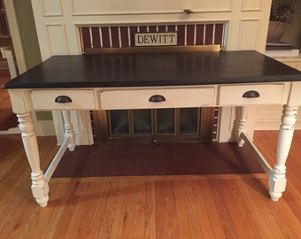 SOLD- Refinished Craft Table