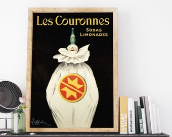 The Father of Modern Advertising by Leonetto Cappiello Vintage France Advertising Poster Art Print