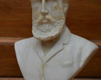 Chalk ware bust of Hartington