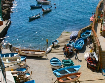 Riomaggiore, Cinque Terre Photography, Italy Photography, Travel, Boats