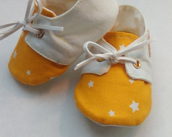 """""""Yellow star"""" cotton city shoes"""