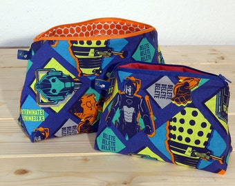 Doctor Who Villians Cosmetic or Toiletry Bags