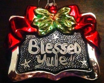 Blessed Yule Ornament