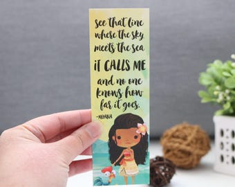 See That Line Bookmark - Polynesian Princess