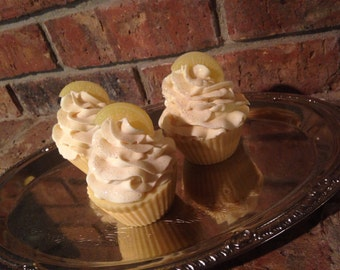 Sweet Citrus Soap Cupcake part favor gift