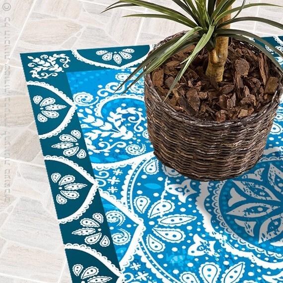 Vente plancher vinyle tapis tapis de cuisine tapis motif - Tapis de cuisine vinyle ...