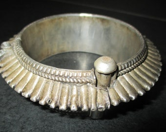 Antique silver Bangle from Rajasthan