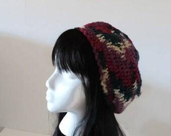 Multicolored Hat Crochet Hat
