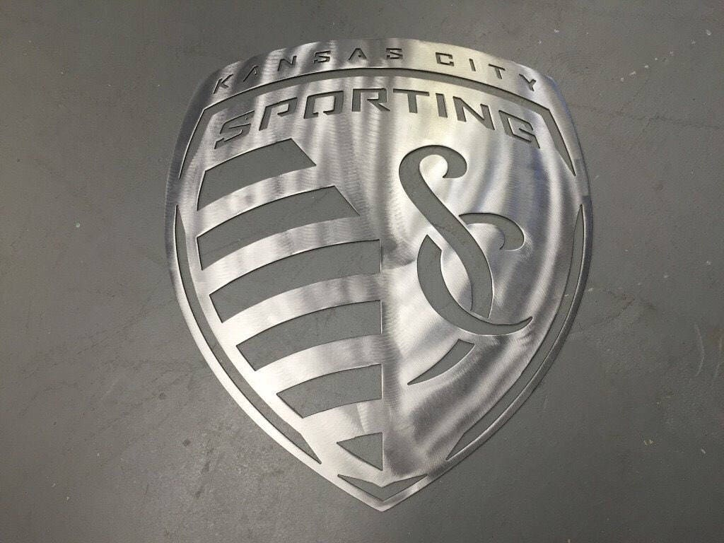 Sporting KC Kansas City Metal Sign Wall Art - Sporting kc car decals