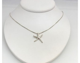 Sterling Silver Small Starfish