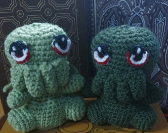 Handcrafted Too Cute Cthulhu