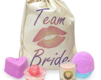 Team Bride Kiss Mini Spa In A Bag Collection 1