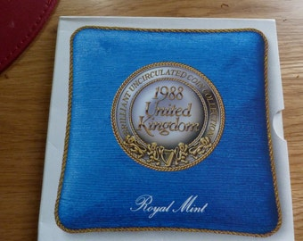 1988 un royal mint coin collection