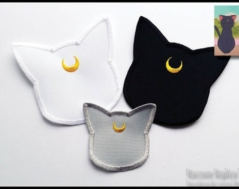 Sailor Moon - Family Pack Luna, Artemis & Diana patches