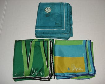 Three Vera Ladies Scarves