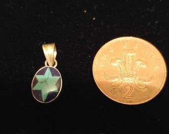Turquoise & Lapus Lazuli Pendant