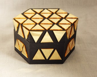 Handmade Decorated Wooden Box