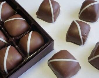 Coconut Creams 9pc. or 15pc. box w/clear top