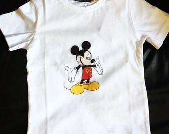 Organic Mickey Mouse Shirt