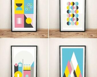 Nordic Fun (4 x A3 Print Set)