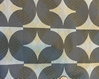 """2 & 7/8 yards - MAHARAM Upholstery Fabric """"Cartouche"""" Horizon"""