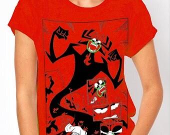 Samurai Jack: Cartoon Network Women's Red T Shirt