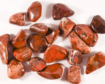 Tumbled Brecciated Jasper.