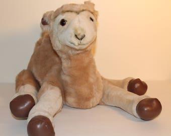 Vintage Camel Plush, Russ Berrie Plush, Vintage Stuffed Animal, Yomiko Plush #7783, Russ Plush