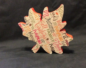 Leaf, Leaves, fall decorations, homemade decorations, autumn decorations