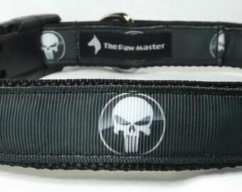 Punisher Dog Collar - Collar Leash  FREE Shipping