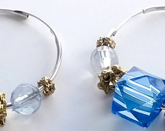 Renetta's Blue Lights Jewelry Set