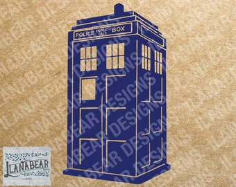 Doctor Who 3D Tardis