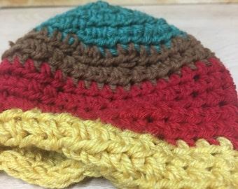 Multicolor Knit Beanie