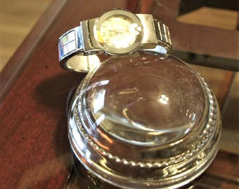 Girls Small Wrist Watch with Mother of Pearl Face Inlay made by ICE