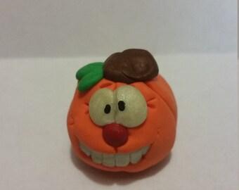 Funny pumpkin fall/holloween