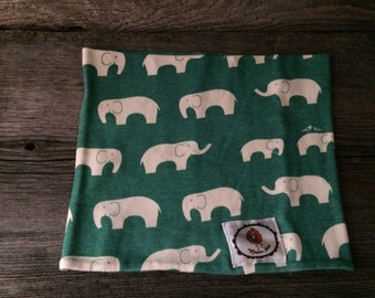 neck scarf infinite elephants