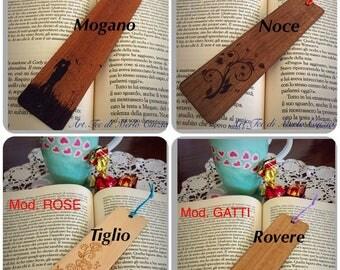Bookmark custom wood gift idea