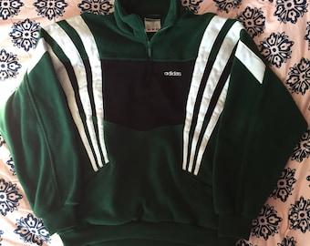 Vintage Adidas Fleece Pullover Sweatshirt