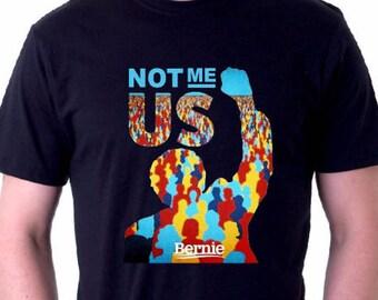 Not Me Us Bernie Sanders Shirt