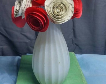 Harry Potter and red rose bouquet