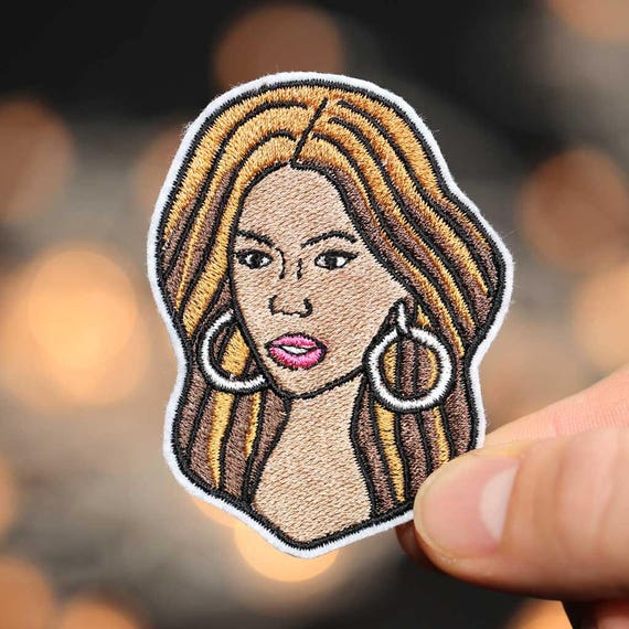 Beyonce Patch - Iron On - Embroidered Patch