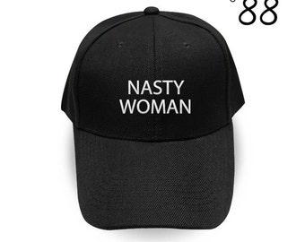 Nasty Woman Baseball Cap Fuck trump Embroidery Hat Nasty Women Cap Pinterest Instagram Tumblr