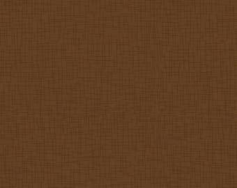 """Autumn Palette by Patrick Lose BROWN Sackcloth  100% cotton fabric by the yard 36""""x43"""" (N318)"""