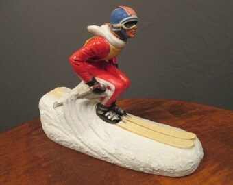 Ski Country Canadian whiskey skier decanter
