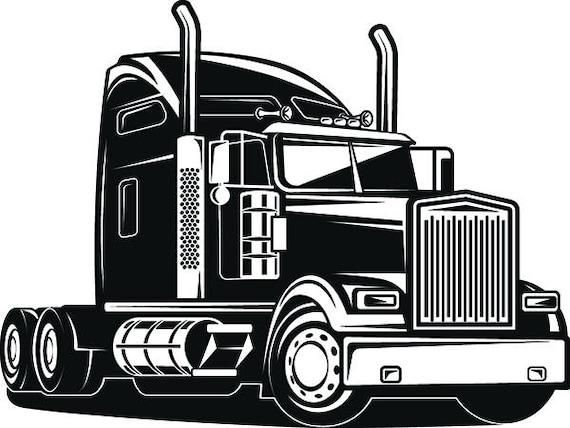truck driver 1 trucker big rigg 18 wheeler semi tractor