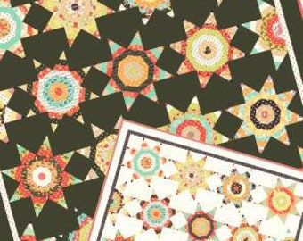Midnight quilt pattern from Fig Tree and co,