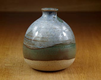 Ceramic Bottle, Sake Bottle, Small Vase, Handmade Pottery Vase